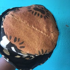 AFRICAN INSPIRED BUCKET HAT( WORN ONCE)